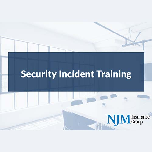 Security Incident Training