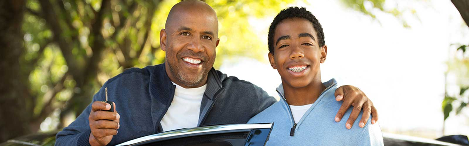 Teen Driver and Dad